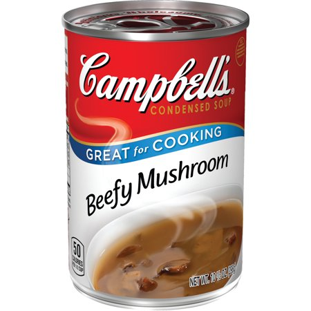Campbell's ® Condensed Beefy Mushroom Soup, 10.5 oz, 10.5 OZ