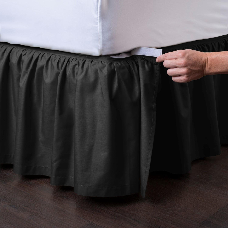 Ashton Detachable Ruffled Bed Skirt