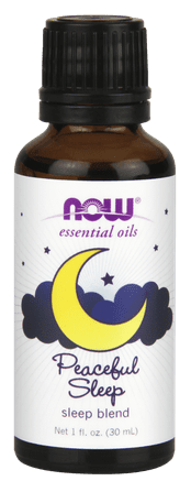 NOW Peaceful Sleep Essential Oils, Sleep Blend, 1 Oz