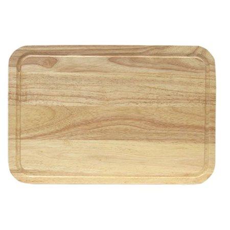 - KitchenWorthy Rubberwood Cutting Board
