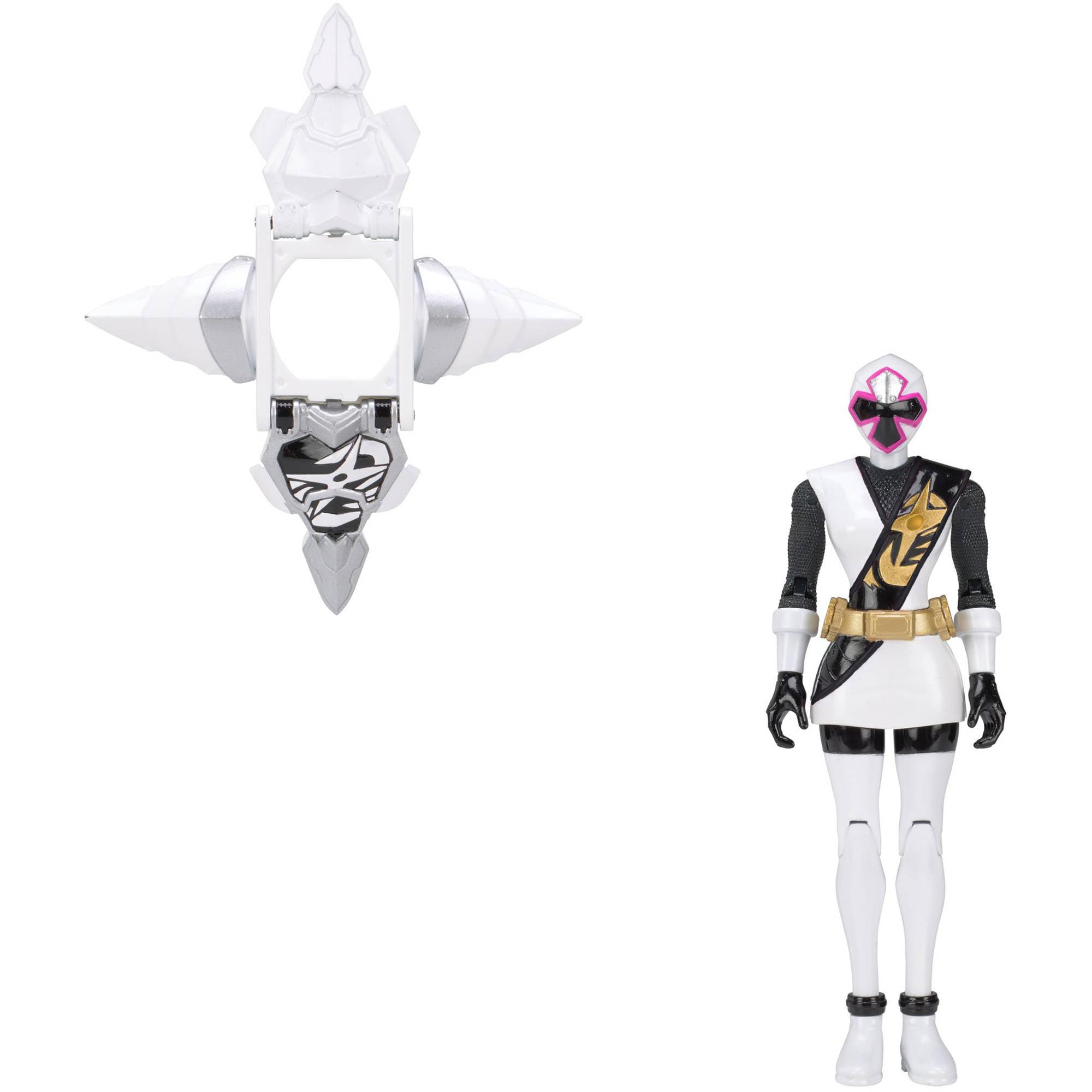 Power Rangers Ninja Steel Armored White Ranger by Bandai America, Inc