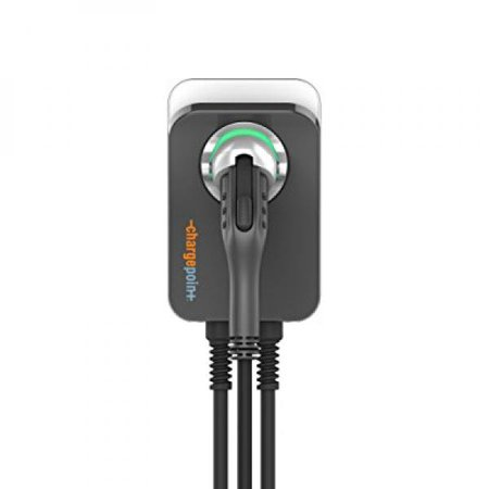 Chargepoint Home Electric Vehicle Charger 16 Amp Plug In Station