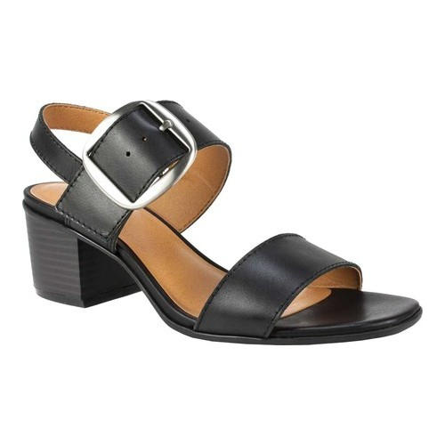 White Mountain Womens Lamar Leather Open Toe Casual Slingback Sandals