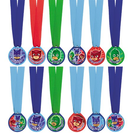 PJ Masks Mini Award Medals (12 - Customized Medals