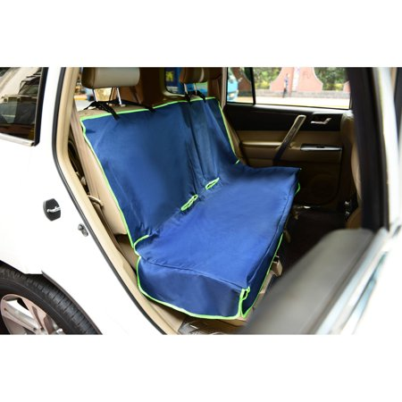 Iconic Pet Furrygo Car Bench Seat Cover Navy Blue