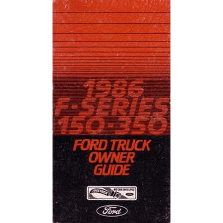 bishko oem maintenance owners manual bound  ford truck