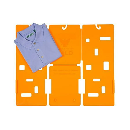 MiracleFold Laundry and Clothes Folder in Orange