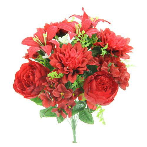 Charlton Home Mixed Floral Arrangement