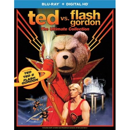 Ted vs. Flash Gordon: The Ultimate Collection (Blu-ray) (Flash Vs Arrow)