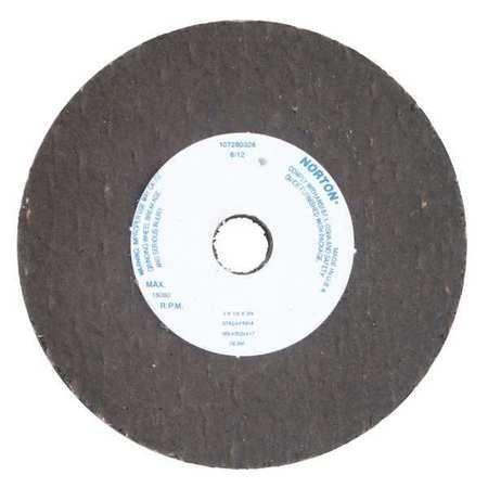 Straight Grind Wheel,8 D,1 T,5/8 Arbor NORTON 66253198592