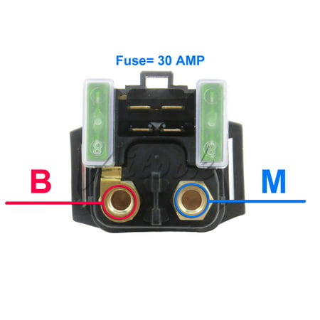 Solenoid Relay For Yamaha BRUIN 350 4WD HUNTER YFM35 2006