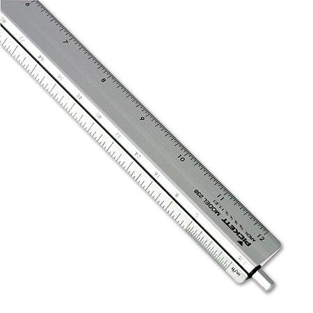 chartpak adjustable triangular scale aluminum architects