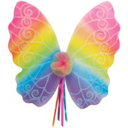 """Star Power Magical & Mysterious Rainbow Fairy Wings, One Size (20"""")"""