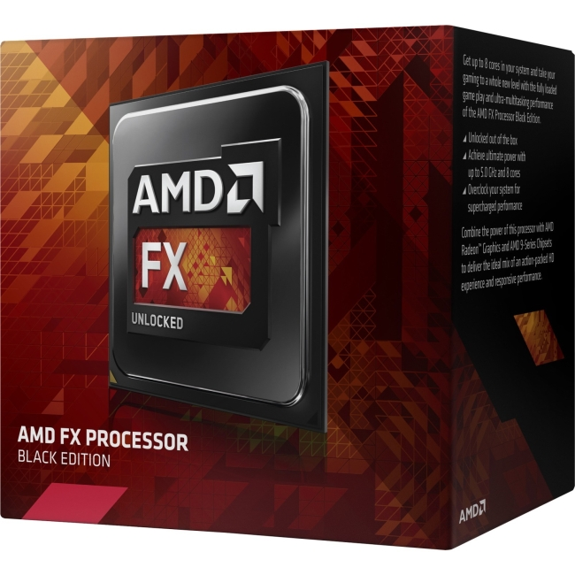 AMD Black Edition FX-8300 8-Core Socket AM3+ 95W Desktop Processor
