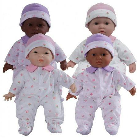 11 inch La Baby Soft Body Play Dolls - Set of - Soft Baby Doll