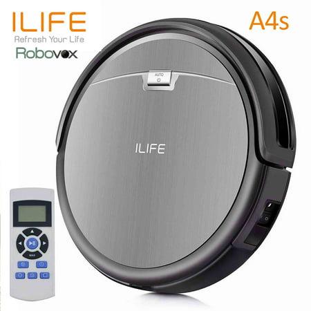 iLIFE A4s Cordless Smart Vacuum Robot Anti Drop/Collision Robotic Cleaner (Style Robot)