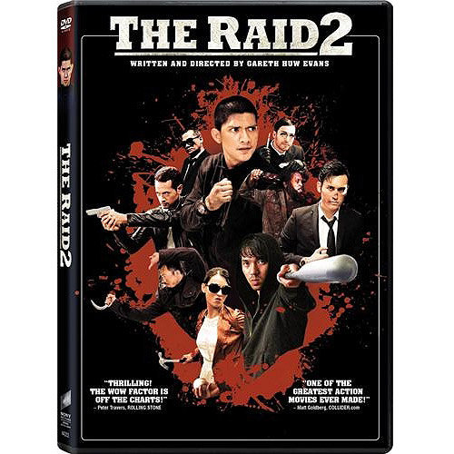 The Raid 2 (Unrated) (DVD + Digital HD) (With INSTAWATCH) (Widescreen)