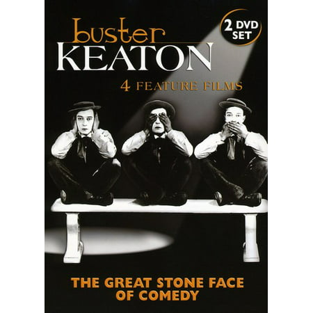 Buster Keaton: The Great Stone Face of Comedy (DVD)