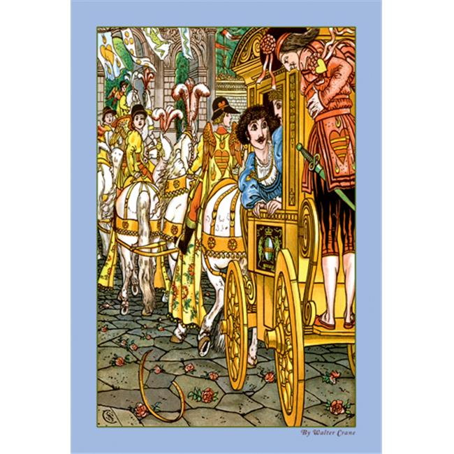 Buy Enlarge 0-587-09604-7P12x18 Frog Prince - Procession- Paper Size P12x18