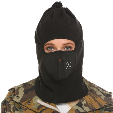 Clearance! Full Face Full Cover Balaclava Ski Mask and Neck Warmer for Motorcycle Cycling HITC