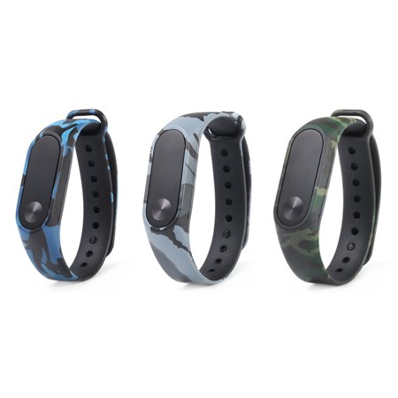 Hight Quality Camouflage Pattern Strap WristBand Bracelet Replacement For Xiaomi MI Band 2