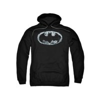 Batman DC Comics Smoke Signal Bat Logo Adult Pull-Over Hoodie