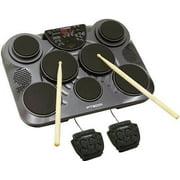 Pyle Pro PTED01 Electronic Drum Set Portable Tabletop 7 Pad Digital Drum Kit