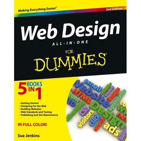 Web Design All-In-One for Dummies (Best Place To Learn Web Design)