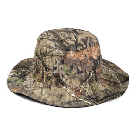 a81e56346e Mossy Oak Camo and Blaze Boonie Reversible Hat - Walmart.com