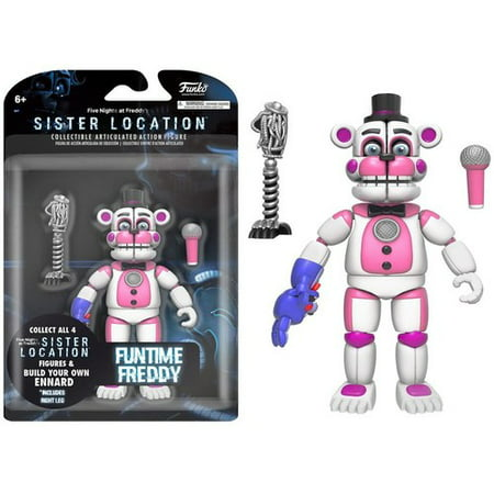 FUNKO 5 ARTICULATED ACTION FIGURE: FIVE NIGHTS AT FREDDY'S - FUNTIME FREDDY (Halloween At Freddy's Tryhardninja)