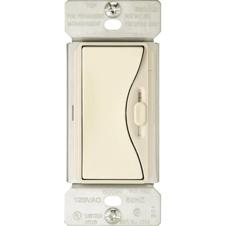 Cooper Wiring Devices 9530Ds Aspire Slide Dimmer With Preset, Desert Sand Cooper Aspire Dimmers