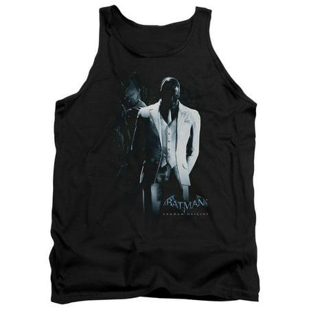 batman arkham origins/black mask   adult tank   black     bao107](Halloween's Origins)