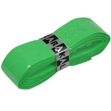 PU Supergrip Replacement Racquet Grip - tennis / badminton / squash (Green, 4 x Grips) By Karakal From USA