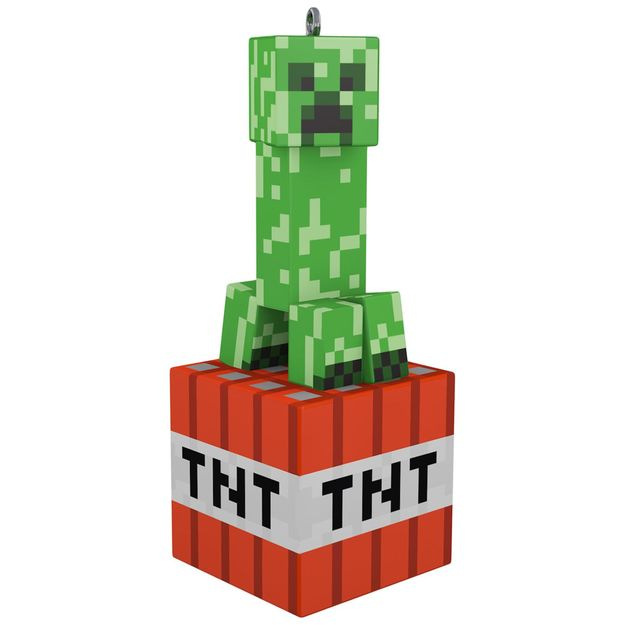 Hallmark Keepsake 2017 Minecraft Creeper Ornament
