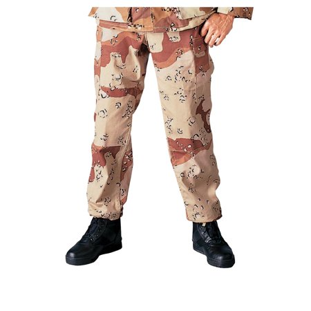Desert Tiger Camo (Desert Camo BDU Pants, Military Fatigues )
