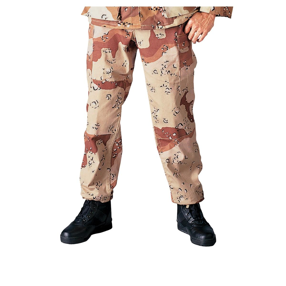 Desert Camo BDU Pants, Military Fatigues