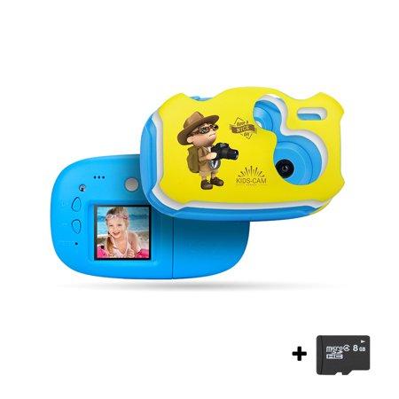 matoen Kids Digital Camera 1.44in Digital Creative DIY For Kids Anti-fall With