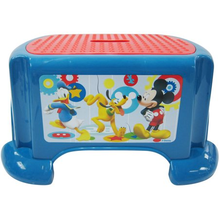 Kids Only! Disney Mickey Mouse Clubhouse Capers Step Stool - Walmart.com