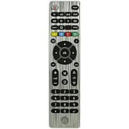 GE 11695 4-Device Universal Remote Control – 2 x AAA (Batteries (Refurbished)