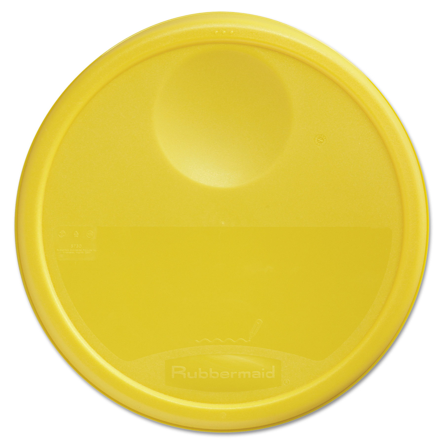 Rubbermaid Commercial Round Storage Container Lids 13 1/2 dia x 2 3/  sc 1 st  Walmart & Rubbermaid Commercial Round Storage Container Lids 13 1/2 dia x 2 3 ...