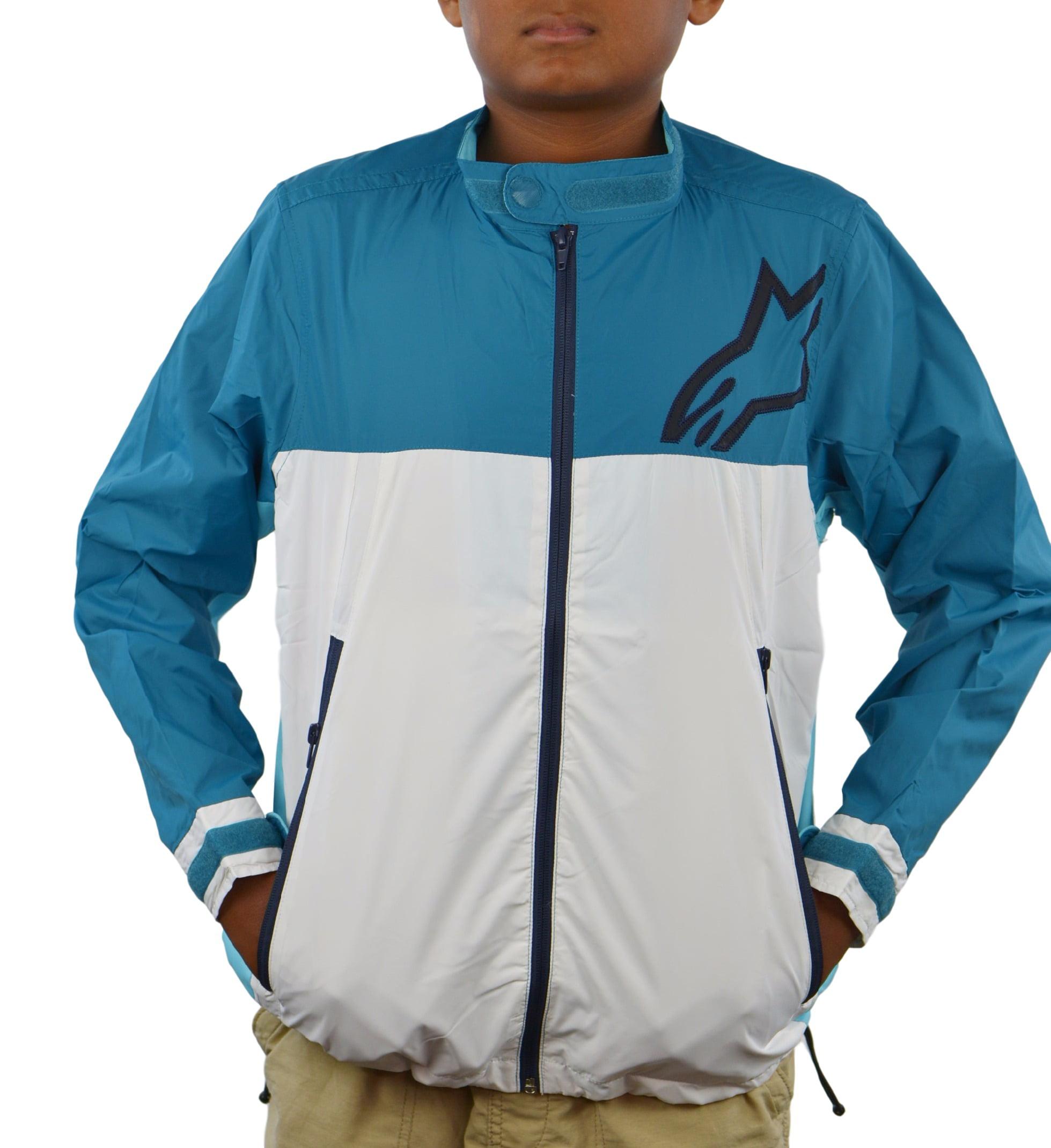 Alpinestars ORIGAMI Boys Jacket Polyester Windbreaker, Teal