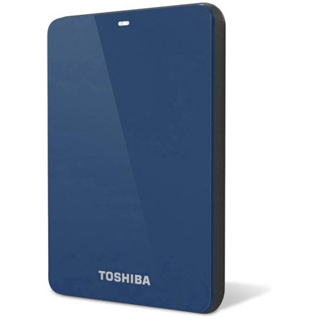 Toshiba 1tb usb 3.0 portable external hard drive with backup software, Blue
