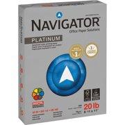 Navigator Platinum Office Multipurpose Paper, Bright White, 5000 / Carton (Quantity)