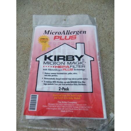 Genuine Kirby Bag Avalir Micro Magic Allergen Plus Hepa 13