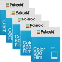 5 Pack Polaroid Originals 4670 Instant Color Film for 600 Type Cameras