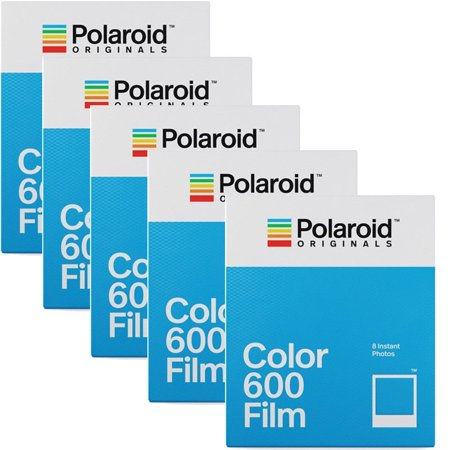 5 Pack Polaroid Originals 4670 Instant Color Film for 600 Type Cameras ()