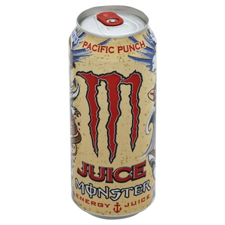 Juice Monster Energy, Pacific Punch, 16 Ounce (Pack of - Honeycomb Monster