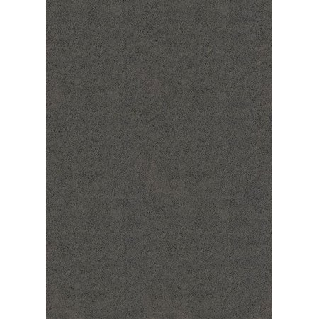 United Weavers Aria Area Rugs - 701-90072 Solid & Striped Grey Shag Solid Rug 5' 3