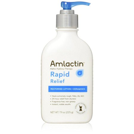 amlactin alpha-hydroxy therapy cerapeutic restoring body lotion for arms legs best dermatologist moisturizer for dry skin, 7.9