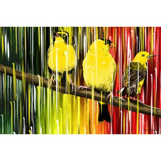 Maxwell Dickson \'Three Little Birds\' Canvas Wall Art - Walmart.com